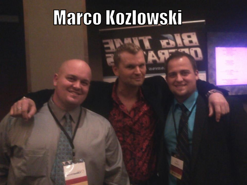 marco kozlowski with attendees